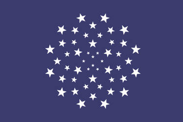 Flag of United States of America in EU style-1 by Metallist-99