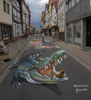 Crocodile by Nikolaj-Arndt