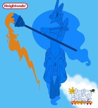 Super Celestia Sunshine (Japanese Poster) by Roger334