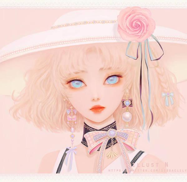 Pretty Lady lily. by lily-nuga