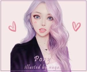 Pony fan art! by lily-nuga