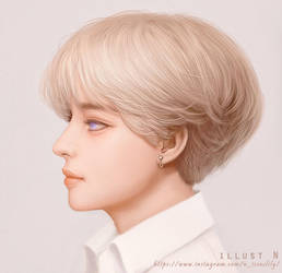 blonde boy. by lily-nuga