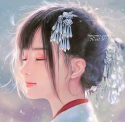 Pretty Girl. by lily-nuga