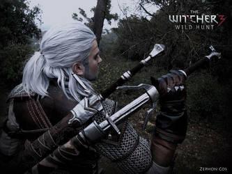 Geralt de riv. / Geralt of rivia by Zephon-cos