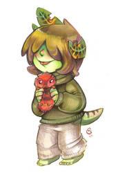 Pet caterpillar by Fluro-Knife