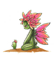 Cactus sprite by Fluro-Knife