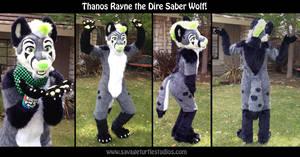 Thanos Rayne Dire Saber Wolf Fullsuit by JakeJynx