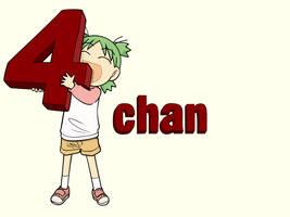 Yotsuba and 4chan by Teh-Bojangles