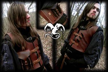 Tactical assassin's vest by Noir-Azur