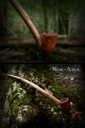Curved pipe by Noir-Azur