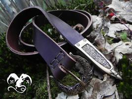 Viking belt 3 by Noir-Azur