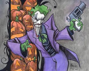 Joker in Tim Sale Style by JarOfComics