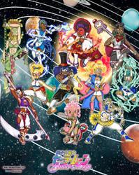 Ebony Sailor Senshi by Syrup-San