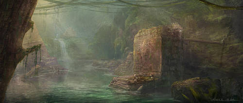 Ancient Ruins by tamowicz
