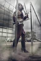 Mileena cosplay Mortal Kombat X by HeritageOfTheWolf