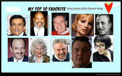 Top 10 VA who passed away (Done) by PrettyShadowj28
