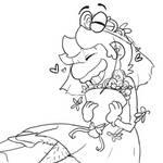 Wedding Mario by C0ZZM0