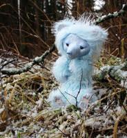 Bear patron of the first snow by Werdiga