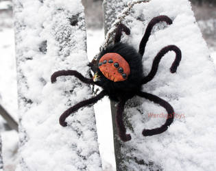 toy Spider Daddy Longlegs by Werdiga