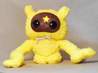Cute Yelloy Monster by Werdiga