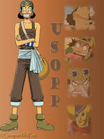 Montage of Usopp by GueparddeFeu