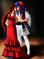 Folkloric love by GueparddeFeu