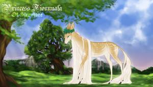 Fionnuala the Golden | Doe | Princess by SilveringOak
