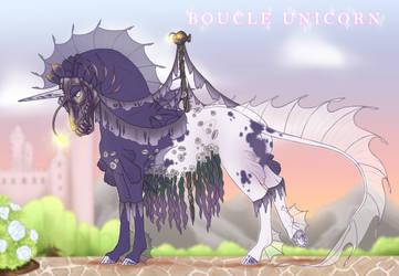 Boucle Unicorn Import M078 by SilveringOak