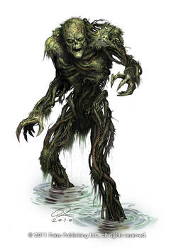 Swamp Monster by Akeiron
