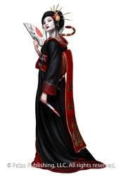 Kasai Geisha by Akeiron