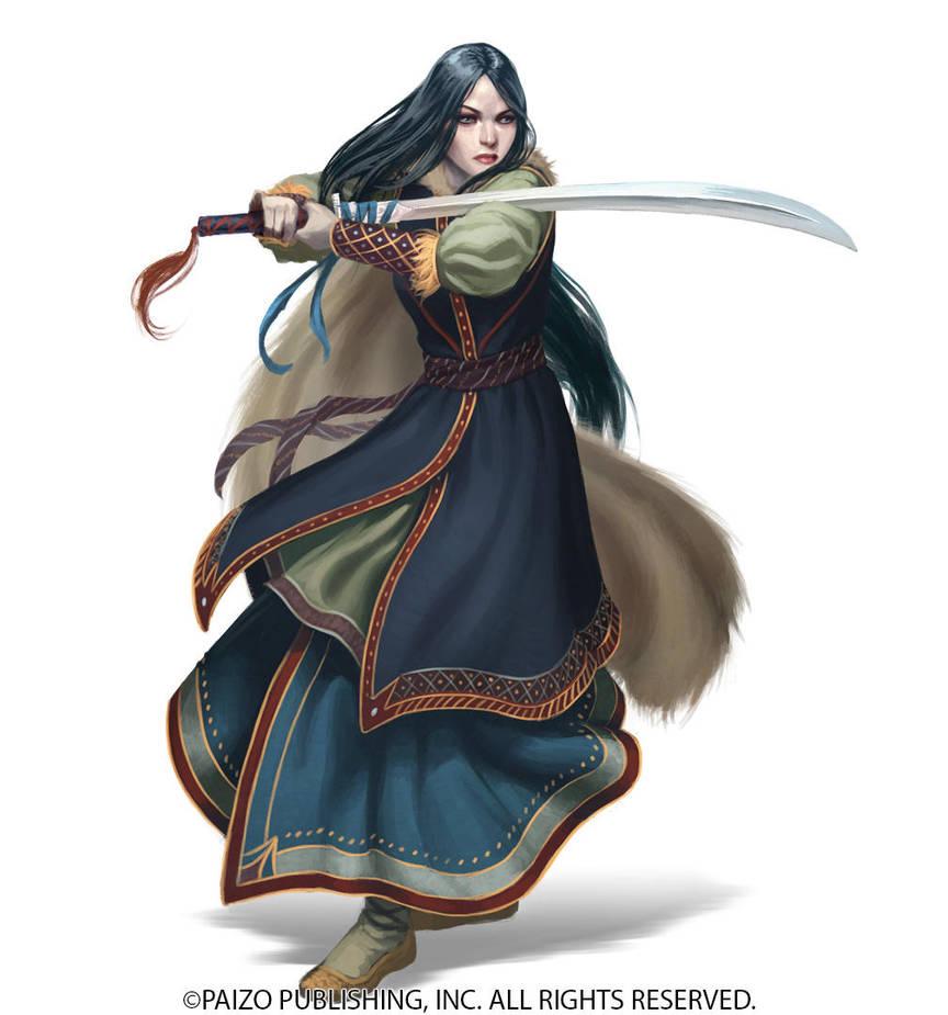 Aldori Swordlord by Akeiron