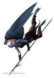 Strix Warrior by Akeiron