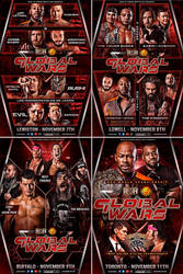 ROH Global Wars tour 2018 official poster by THE-MFSTER-DESIGNS