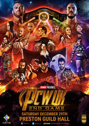 PCW End Game official poster artwork by THE-MFSTER-DESIGNS