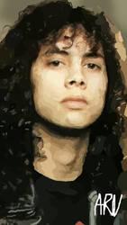 Kirk Hammett by ARandomUserl-l