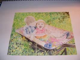 Wheelbarrow Finish Snapshot by Dandy-L