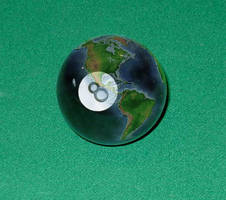 8 Ball Globe by Dandy-L