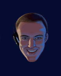 Dix - Twitch Stream Avatar Design by Dandy-L