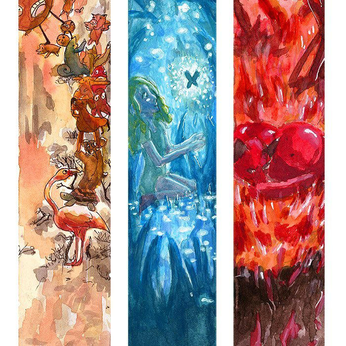 Color illustration by Shirahakun