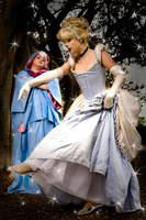 Cinderella and Fairy Godmother by trueenchantment