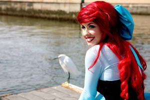 Ariel Little Mermaid Dress 2 by trueenchantment