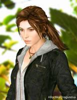 Lara Croft by Allochka-Dragunova