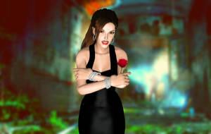 lady lara croft by Allochka-Dragunova