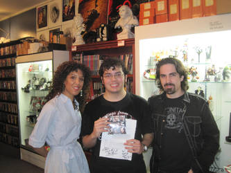 Meeting Bear McCreary by rlkitterman
