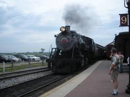 Strasburg No. 90 Brings the Train by rlkitterman