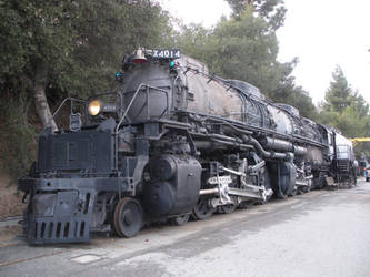 Union Pacific Big Boy 4014 in Pomona by rlkitterman