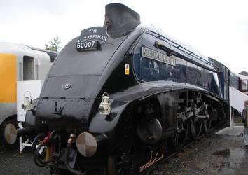 Sir Nigel Gresley at Railfest 2012 by rlkitterman