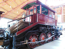 Baltimore and Ohio 'Camelback' No. 305 by rlkitterman