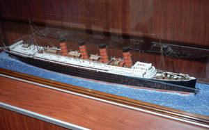 RMS Lusitania Waterline Model by rlkitterman