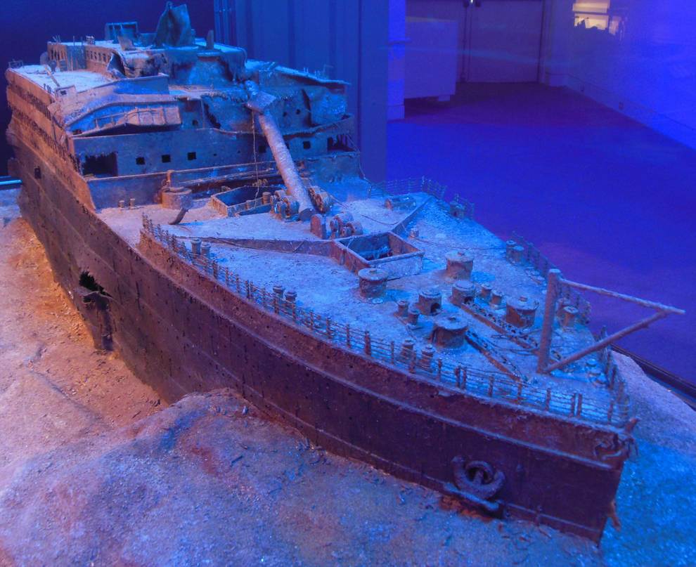 RMS Titanic Wreck - Bow Section by rlkitterman